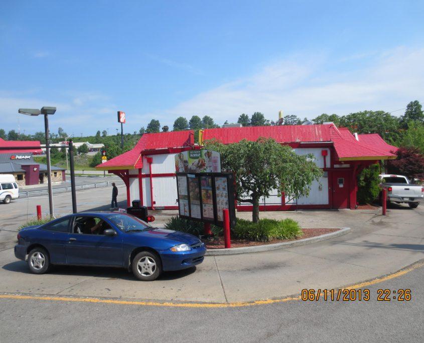 McDonalds Before Construction