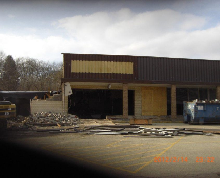 Rite Aid Before Construction