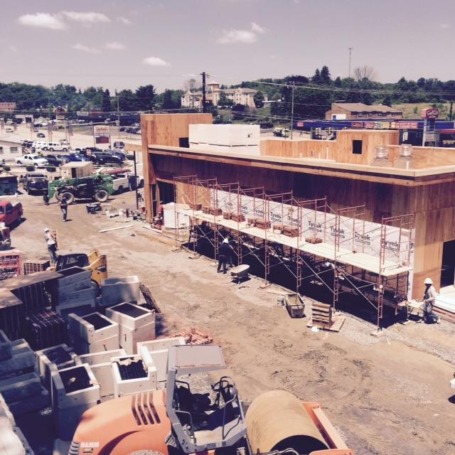 Wendy's During Construction