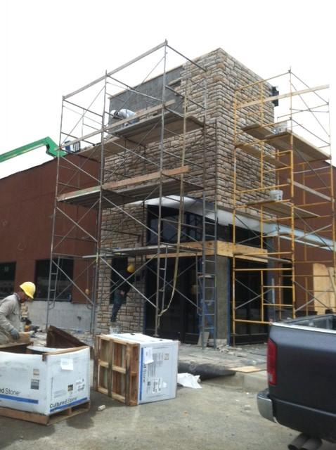 Applebee's - During Construction
