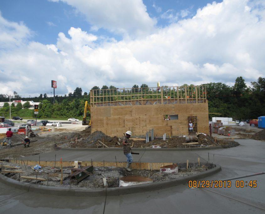 McDonalds During Construction