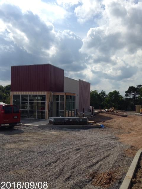 Smoothie King - During Construction