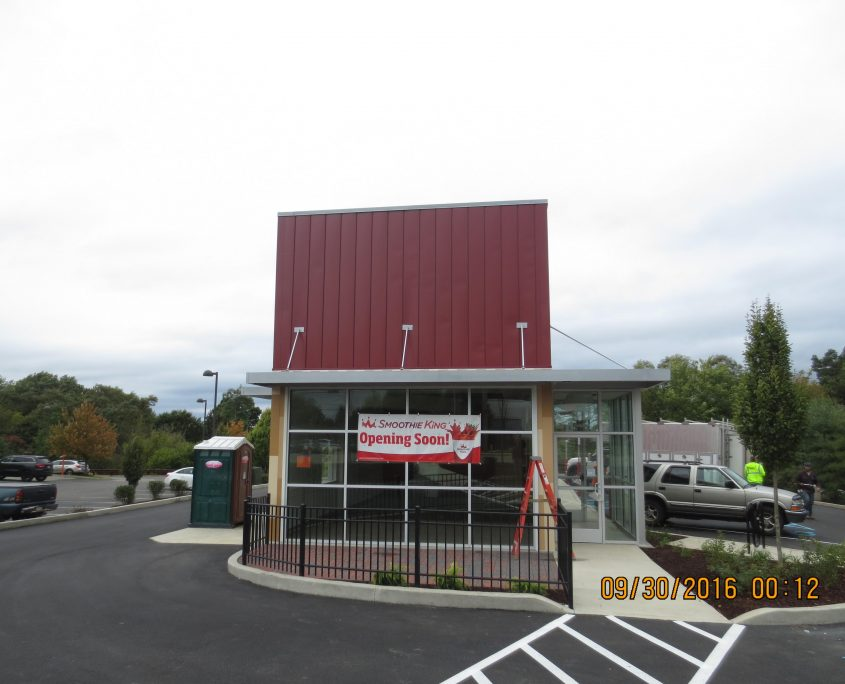 Smoothie King - Finished Construction